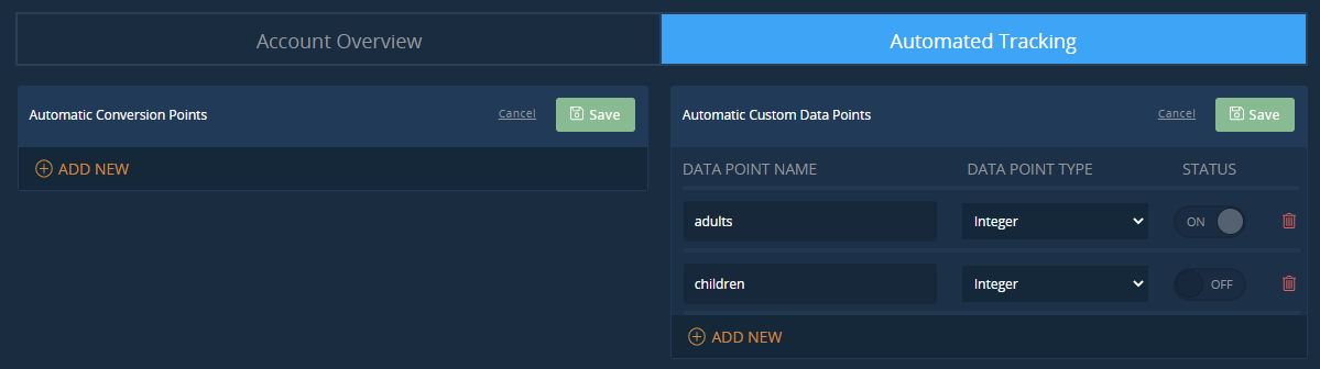 Data Object matching for Segments
