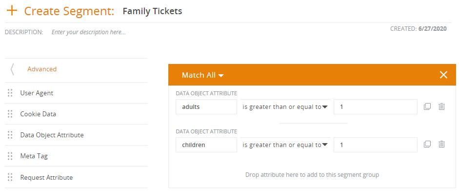 Family Booking Segment
